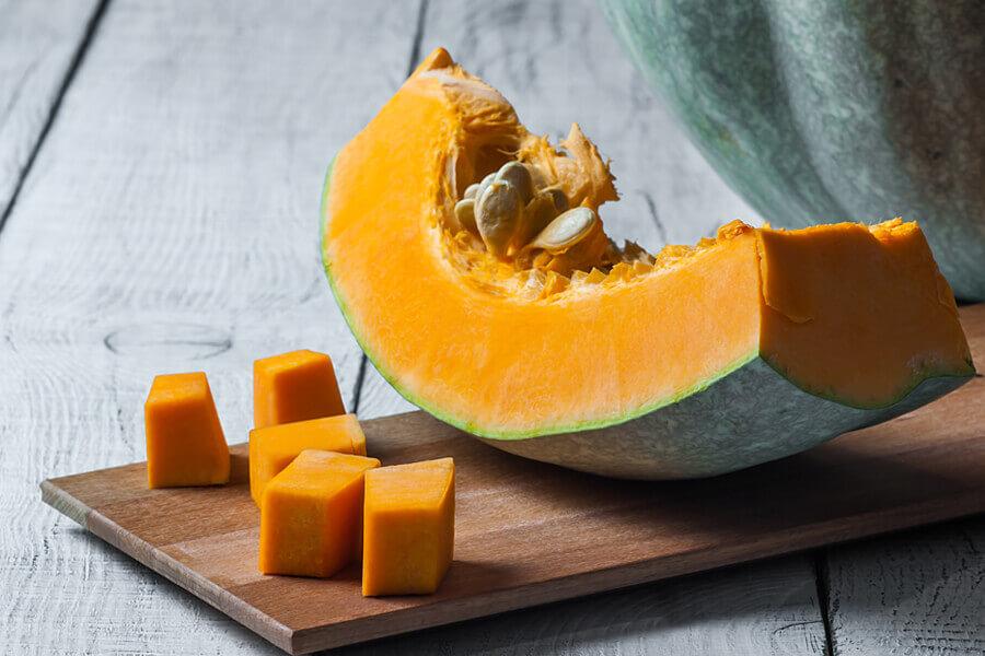 皮と果肉の間に白い塊が…かぼちゃのクリスタル症状って?