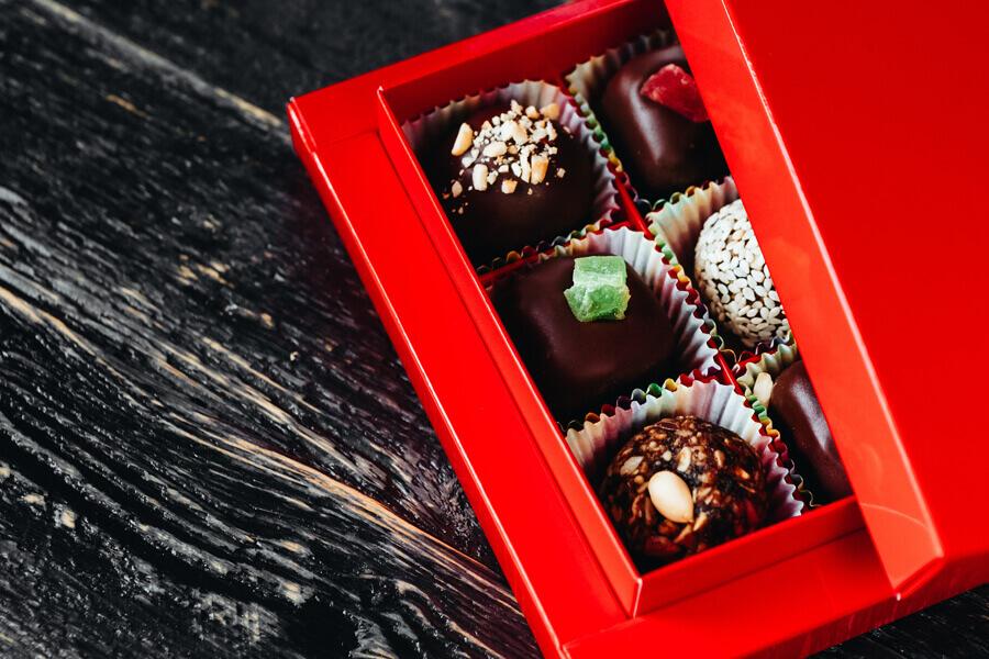 チョコレートの管理は厳重にしよう
